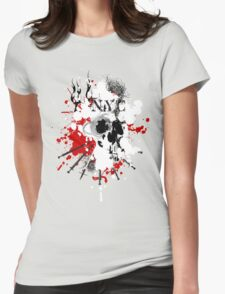 NYC Spray Womens Fitted T-Shirt