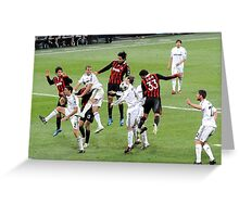 Group action. Greeting Card