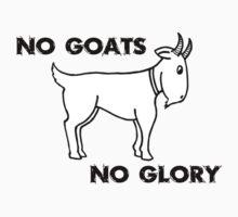 No Goats No Glory Men Who Stare At Goats T-Shirt