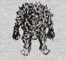 Town Golem (ink version) by Matt Thurston