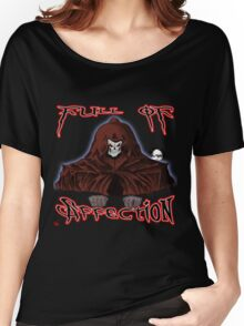 GRIM REAPER AND SIDE KICK/ FULL OF AFFECTION Women's Relaxed Fit T-Shirt
