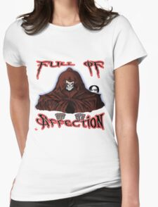 GRIM REAPER AND SIDE KICK/ FULL OF AFFECTION Womens Fitted T-Shirt