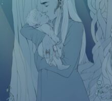 Thranduil&Legolas (Mirkwood Family) ~ Most precious Treasure  Sticker