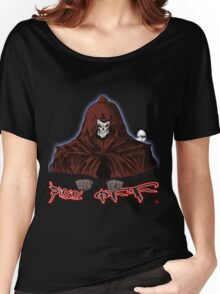 GRIM REAPER AND SIDE KICK/ PISS OFF Women's Relaxed Fit T-Shirt