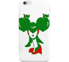 Apple Girl Green iPhone Case/Skin