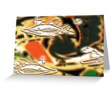 primitive seas Greeting Card