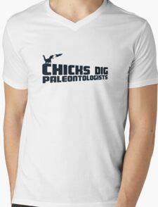 Space Paleontologists Mens V-Neck T-Shirt