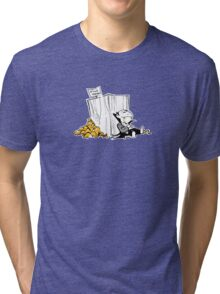Vegetarian Vampire Tri-blend T-Shirt