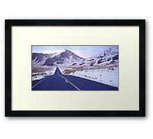 Lindis Pass Framed Print