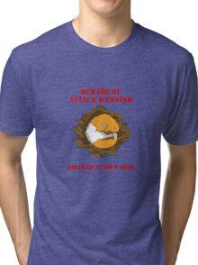 Attack Hamster Tri-blend T-Shirt