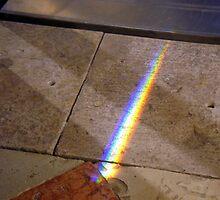 Rainbow on the floor by sstarlightss