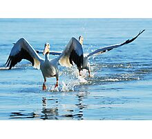 Walking On Water Photographic Print