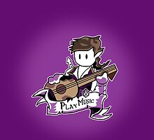 Roll to Play Music or Tell Jokes by Nguyen013