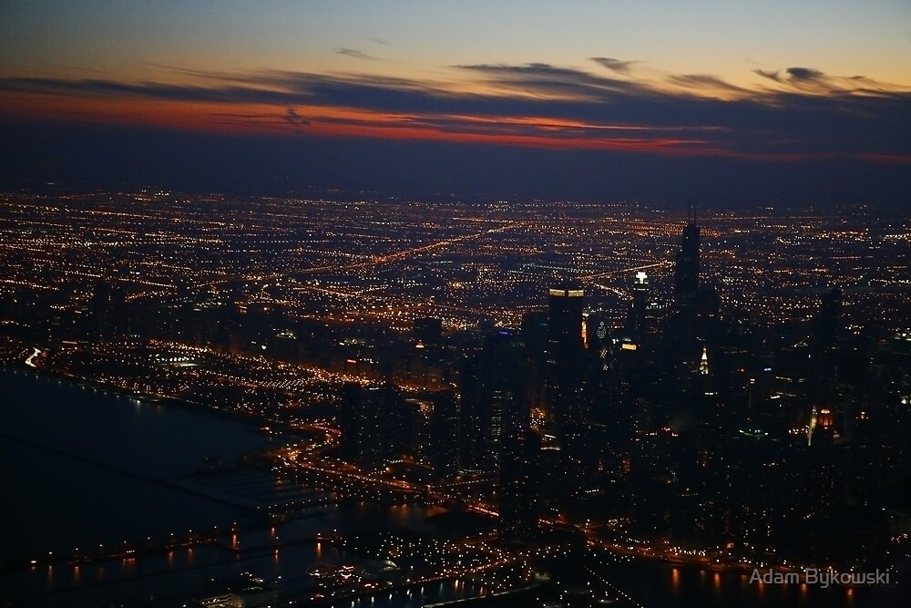 The Big City - Aerial Photography by Adam Bykowski