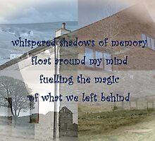 Whispered shadows of memory by aaeiinnn