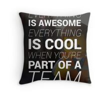 LEGO® : Everything Is Awesome! Throw Pillow