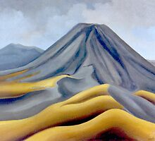 Mount Ngauruhoe, North Island, New Zealand by Patricia Howitt