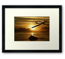 Battle's End  Framed Print
