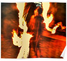 Blazing inferno Poster