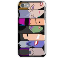 The Seven Deadly Villains  iPhone Case/Skin