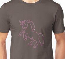Pink Rhinestone Unicorn Unisex T-Shirt