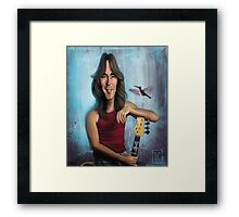 Cliff Williams Framed Print