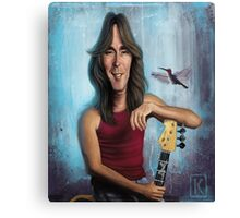 Cliff Williams Canvas Print