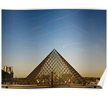 Le Musée du Louvre Poster