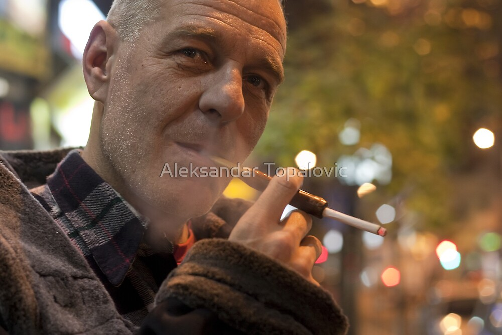 Photo Master caught on the street by Aleksandar Topalovic
