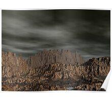 Erahcul Canyon's Hidden Pools Poster