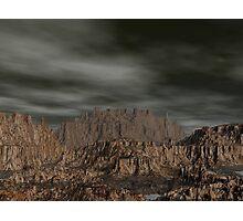 Erahcul Canyon's Hidden Pools Photographic Print