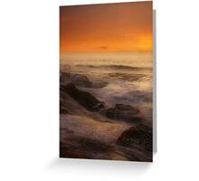 Misty Seas Greeting Card