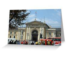 Belgrade station Greeting Card