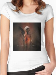 No Title 129 Women's Fitted Scoop T-Shirt