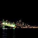 Seattle Night Shots #1 ~ Seattle, Washington ~ by lanebrain photography