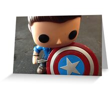 Cap!Dean Pop Greeting Card