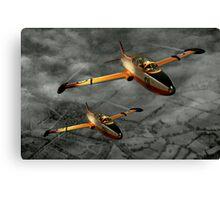 Aermacchi in Flight Canvas Print