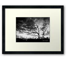 San Jacinto (Desert Sunset) Framed Print