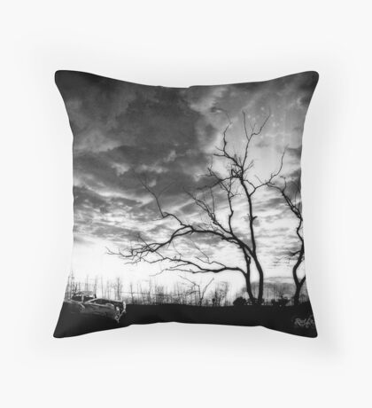 San Jacinto (Desert Sunset) Throw Pillow