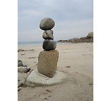 Zen of Rock Photographic Print
