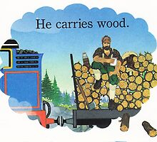 HE'S A LUMBERJACK AND HE'S OKAY by DilettantO