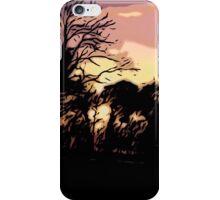 Campsite Sunset  iPhone Case/Skin