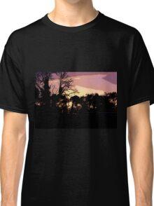 Campsite Sunset  Classic T-Shirt