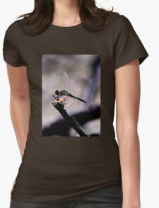 Dragonfly Wings Womens Fitted T-Shirt