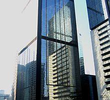 Angles & reflections - Hong Kong by mklau