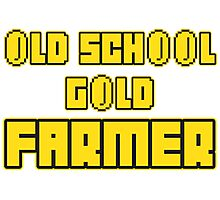 Old school gold farmer Photographic Print