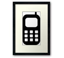 Mobile Phone Framed Print
