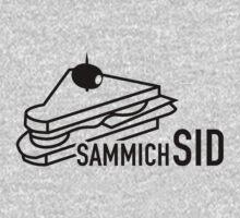 sammichSID (black print) by Wilba
