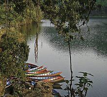 Pokhara lake by Konstantinos Arvanitopoulos