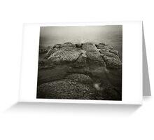 Rock diving Greeting Card